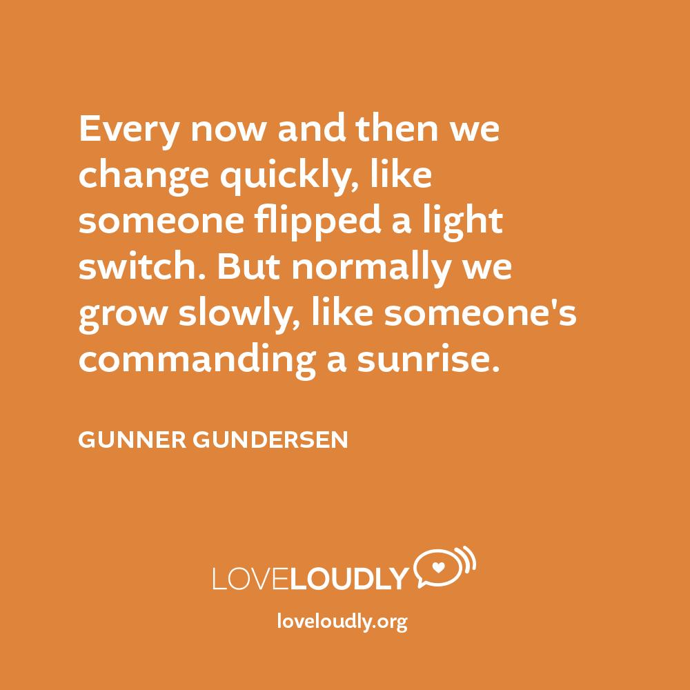 Gunner Gundersen - Every now...