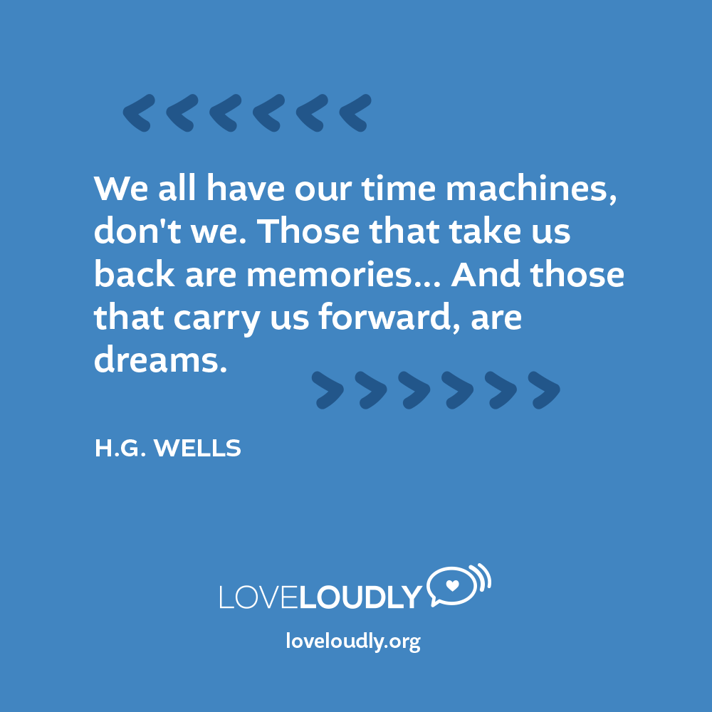 H.G. Wells - We all have...