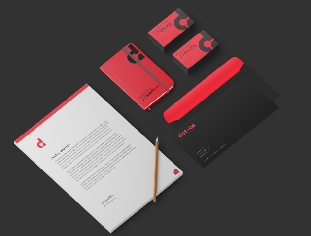 Datas's Stationery concept