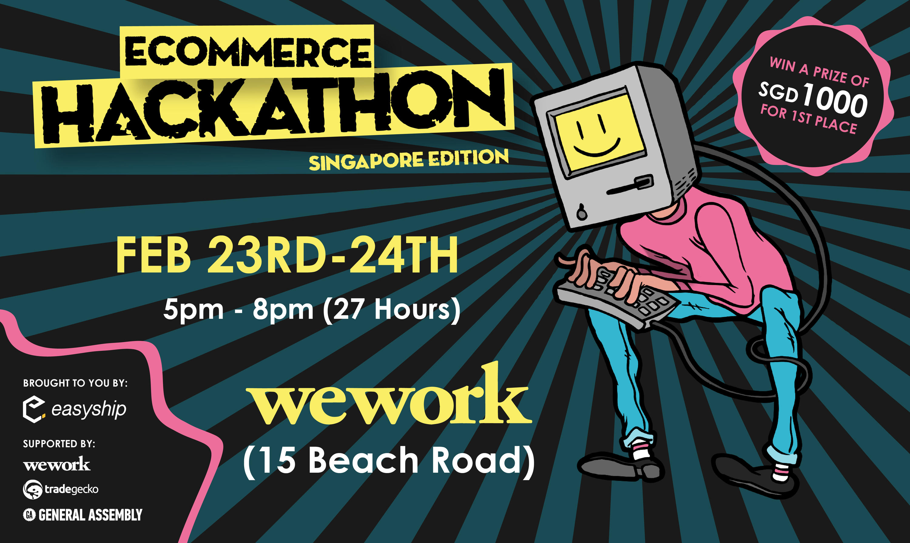 An example of an Ecommerce Hackathon in Singapore back in  2018
