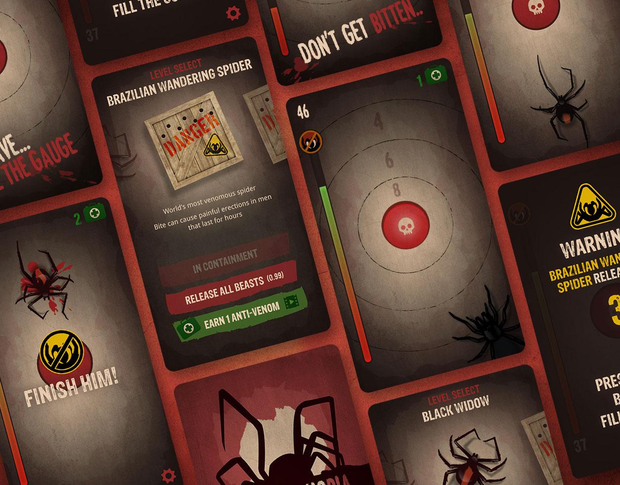 Arachnophobia mobile