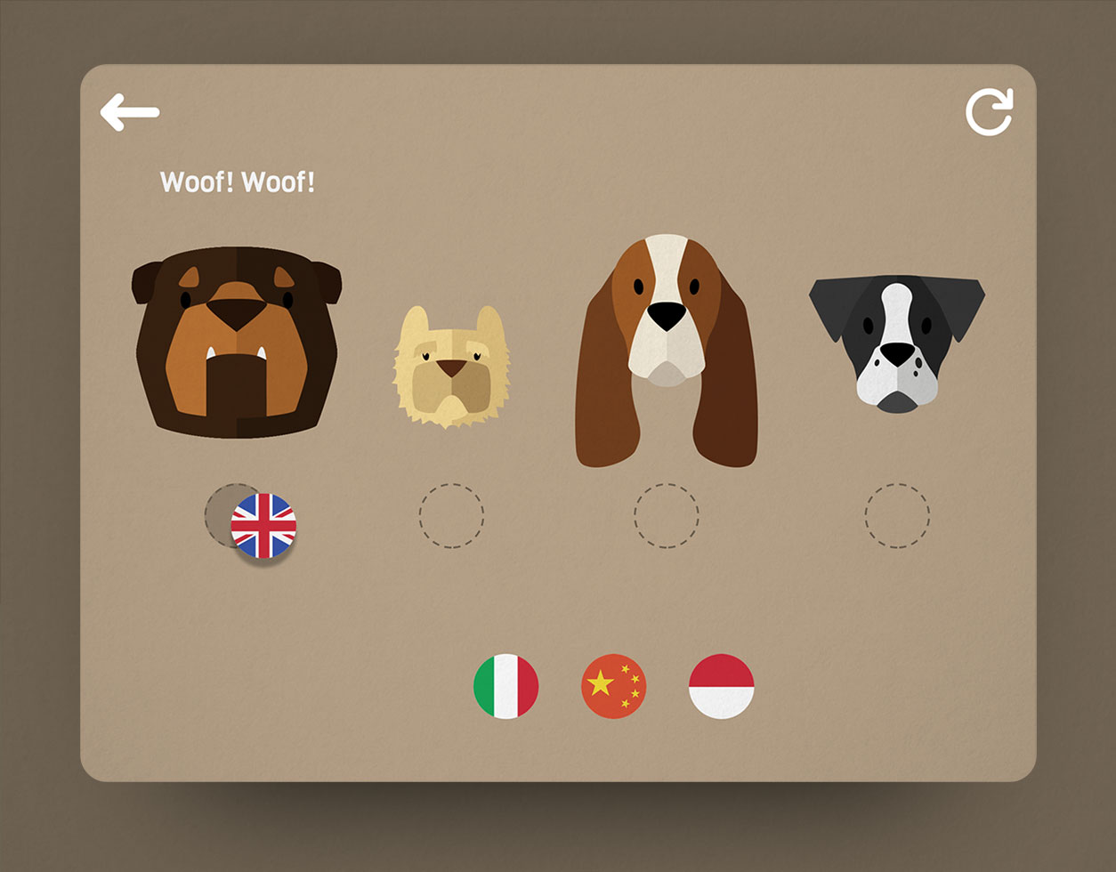 Onomatopeia mobile app