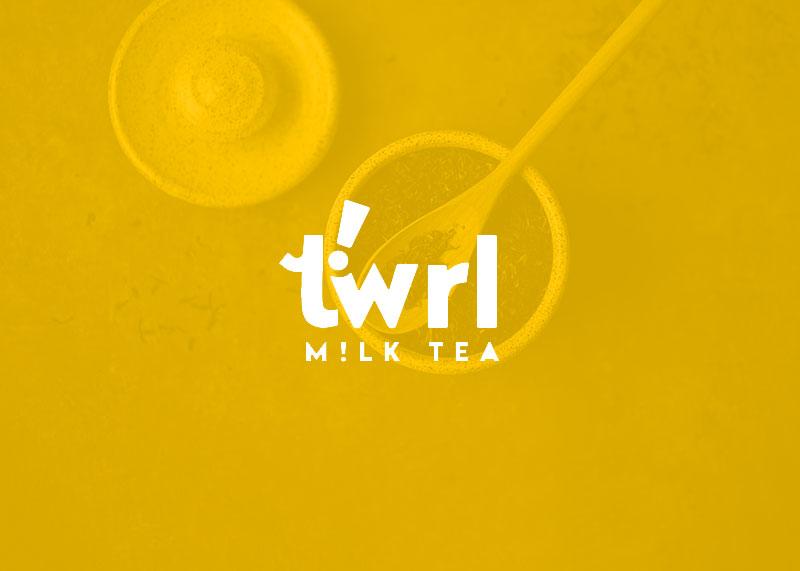 Twrl M!lk Tea