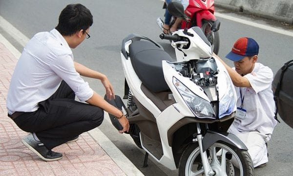 Cứu hộ xe máy 24/24 TPHCM