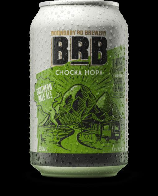 Boundary Road Brewery Choka Hopa Southern Pale Ale