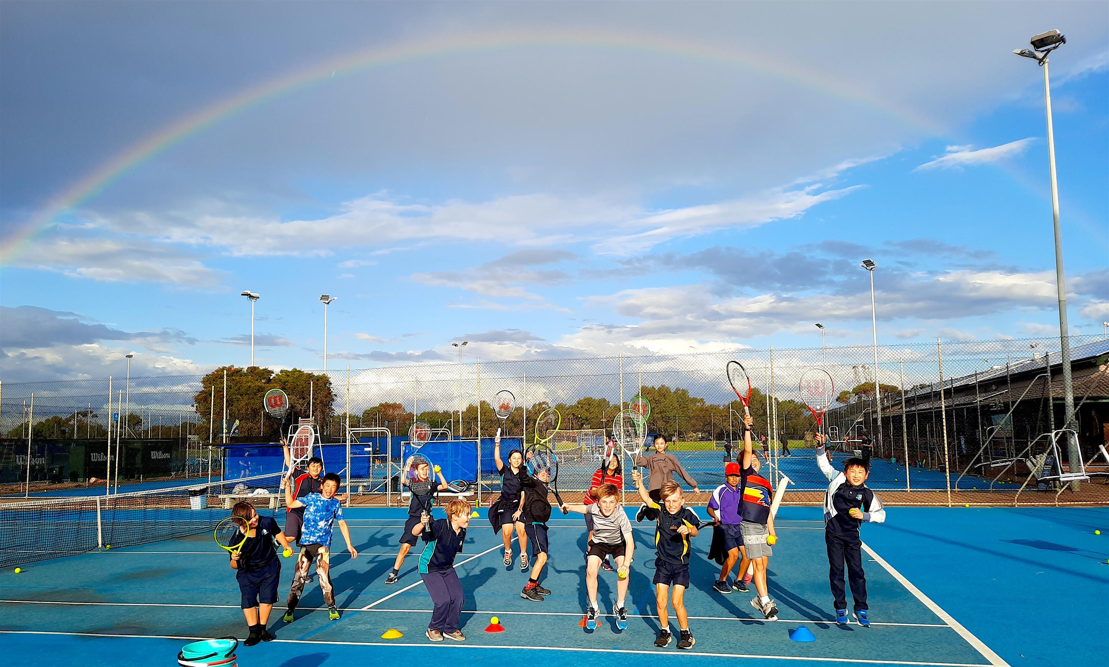 Tennis Students