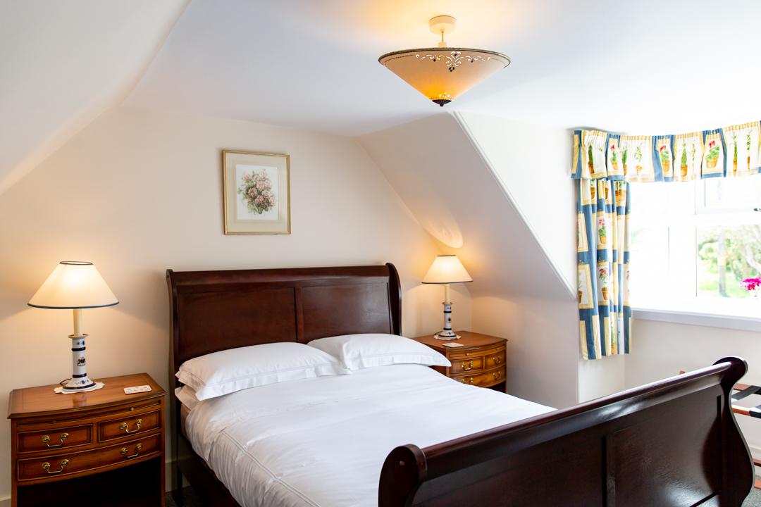 Sunny double bedroom.