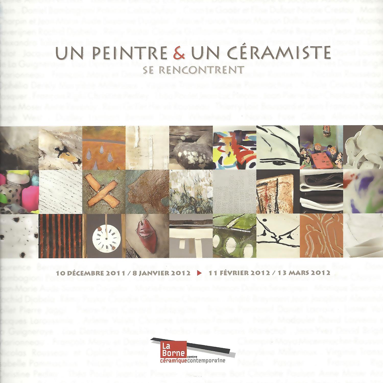 """""""Un peintre et un céramiste se rencontrent"""""""