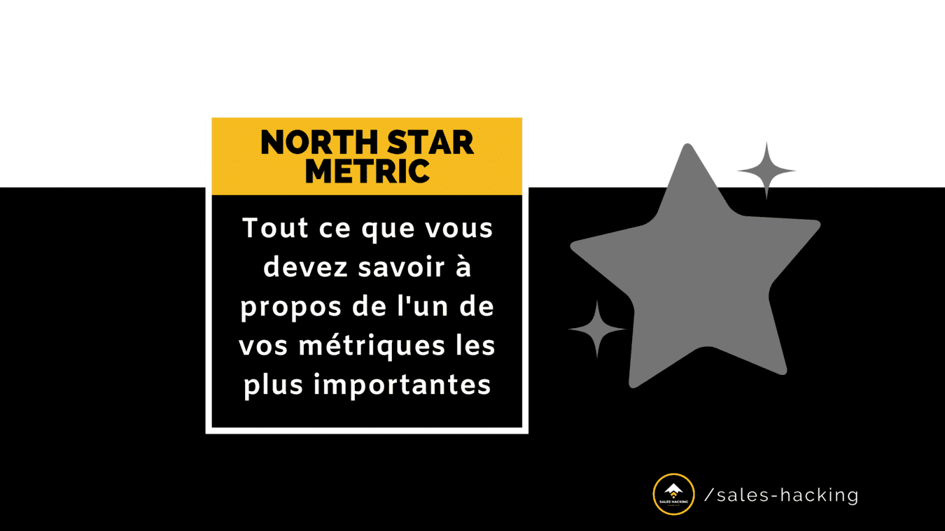 Une NORTH STAR METRIC est essentielle si vous voulez atteindre votre potentiel de croissance maximum et une croissance à long terme.