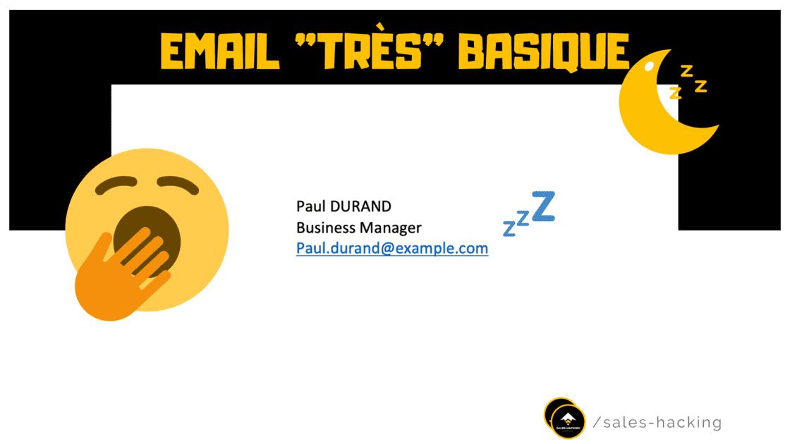 """Signature Email """"Basique"""""""