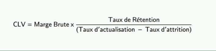 Calcul de la CLV 2