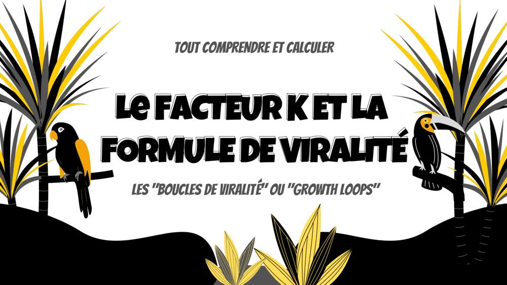 Le Guide Complet du Facteur k de viralité et des Boucles virales (Viral Loops)