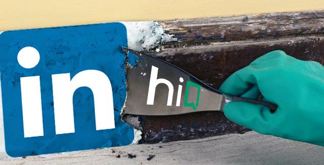 Web scraping Linkedin HIQ
