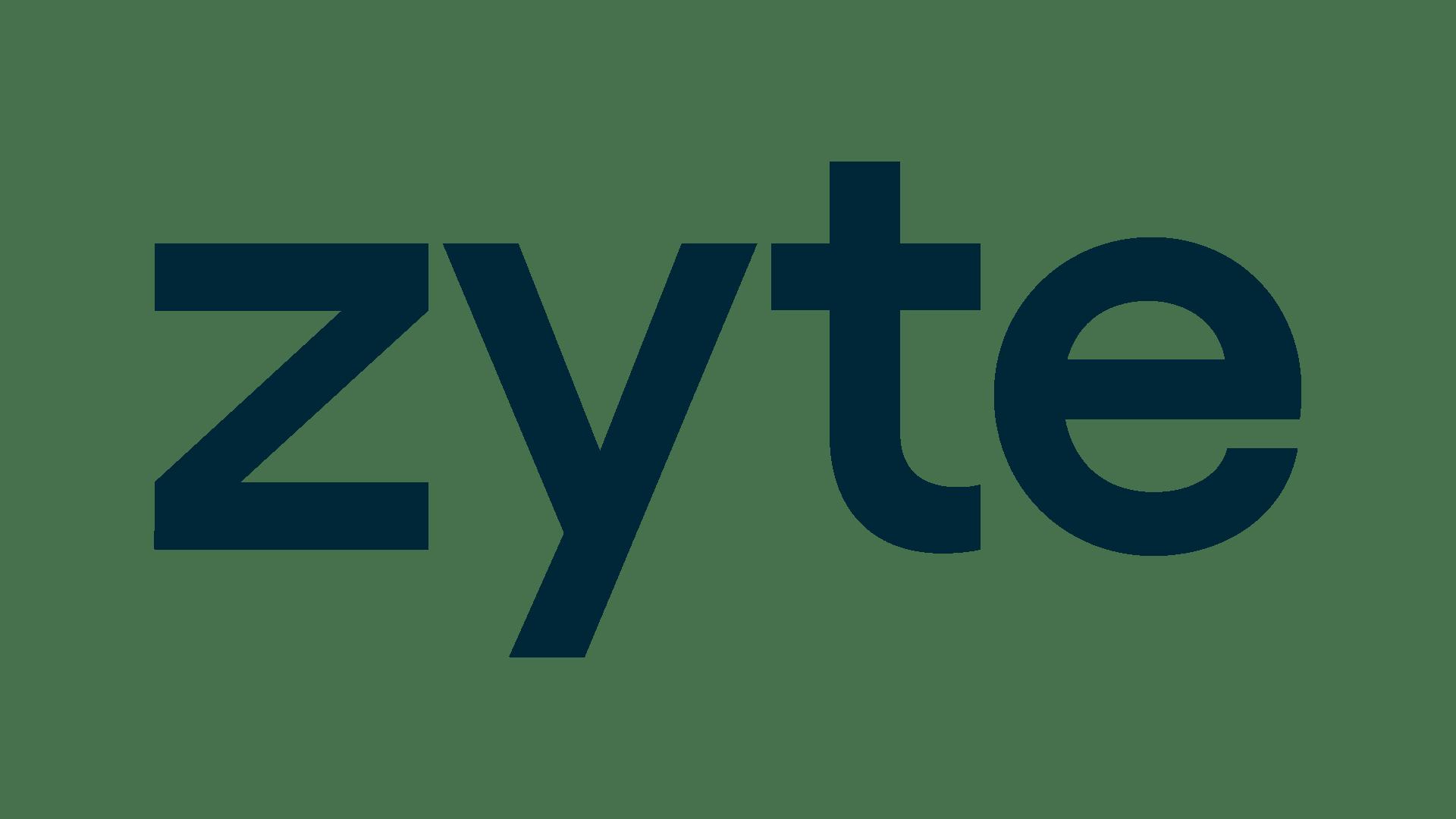 logo Zyte (Ex ScrapingHub)