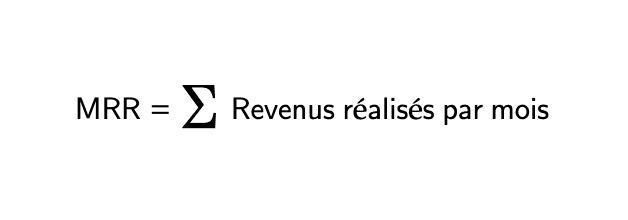 Calcul du MRR
