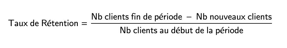 Calcul du Taux de Rétention