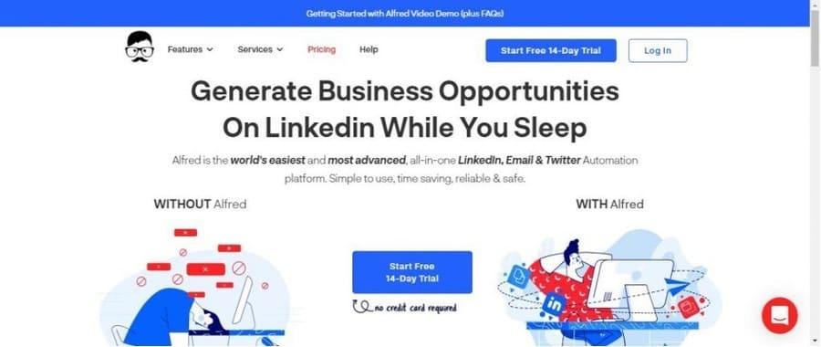 Automatisation LinkedIn : Alfred