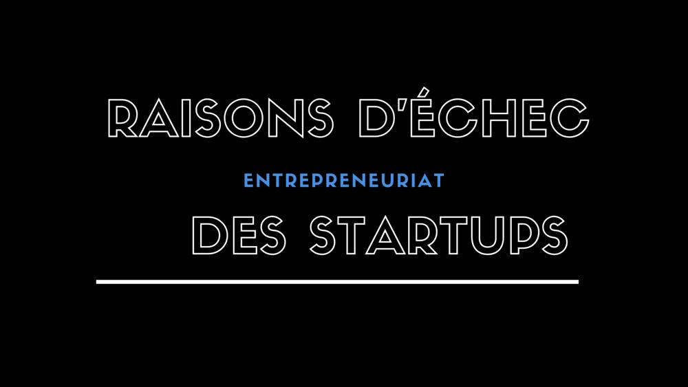 Mais il existe un certain nombre de raisons pour lesquelles les startups et les petites entreprises ont tendance à disparaître au cours de la première ou des deux premières années