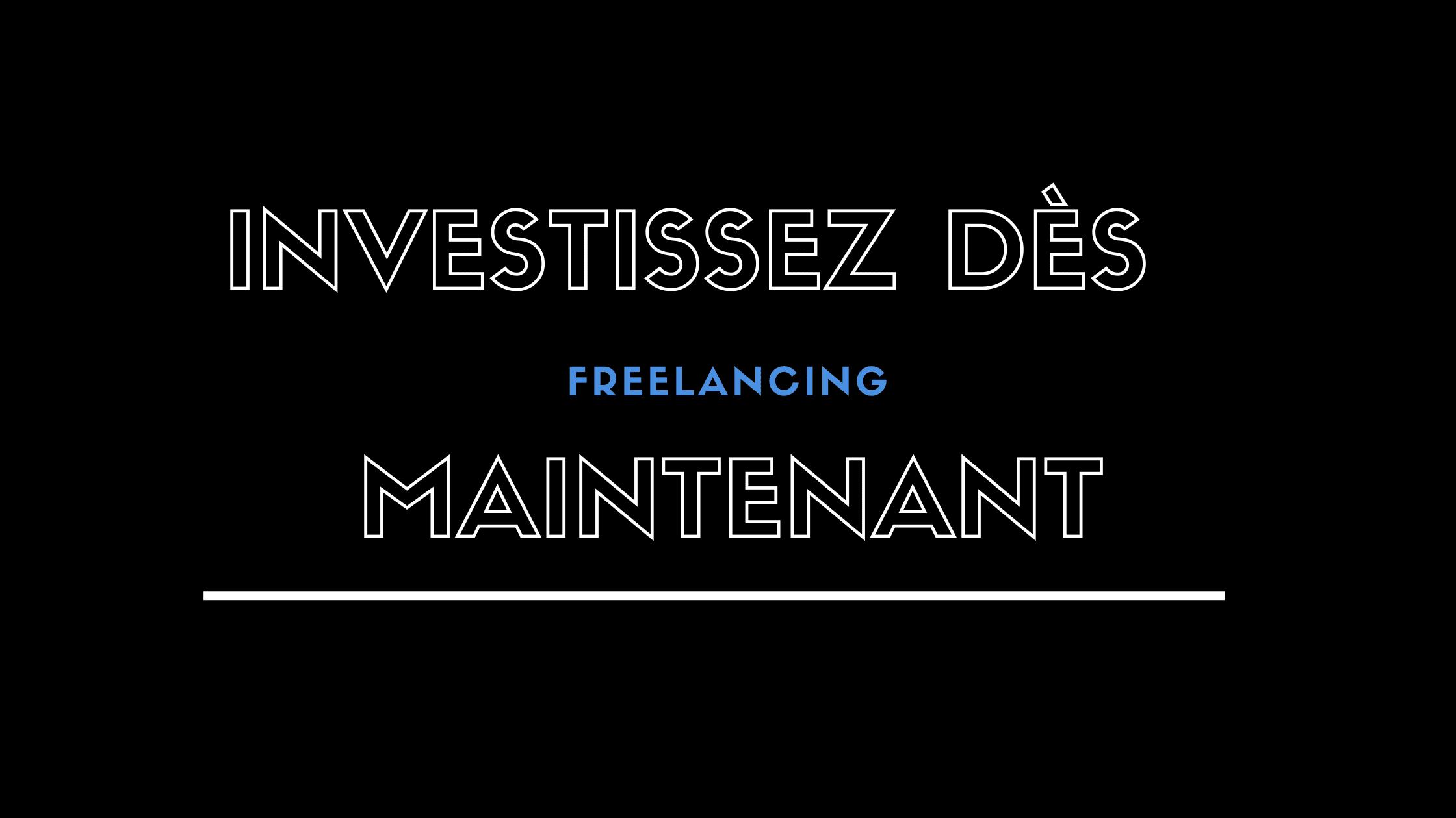 Comment commencer à investir en tant que freelance
