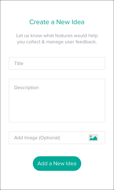 Create a feature request