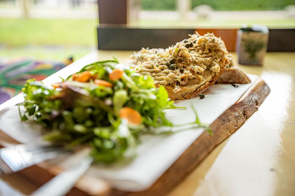 Een lunchbroodjes bij Cafe Keet