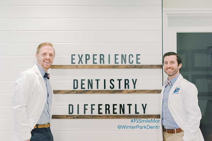 experience dentistry differently sign