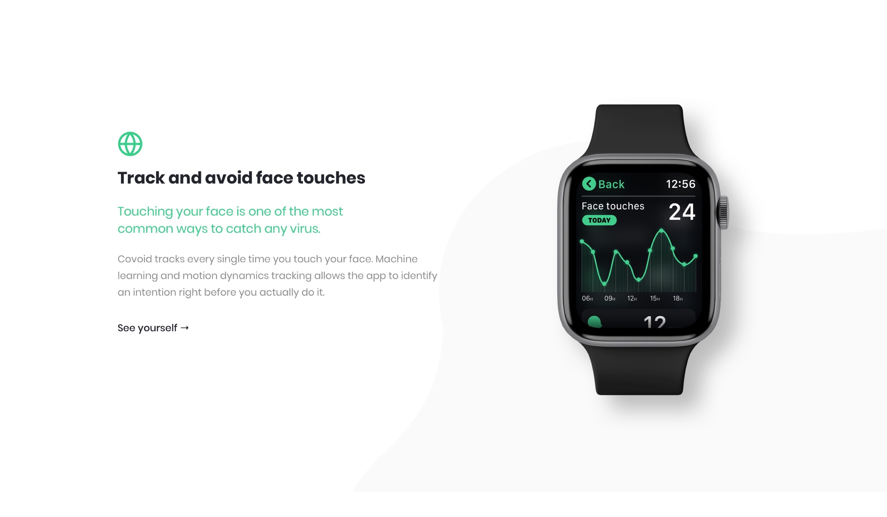 Watch app feature list