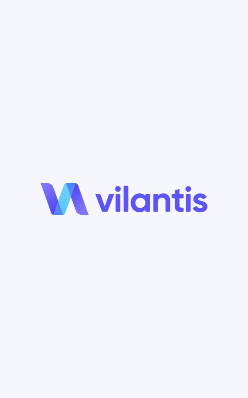 Vilantis logo on light background