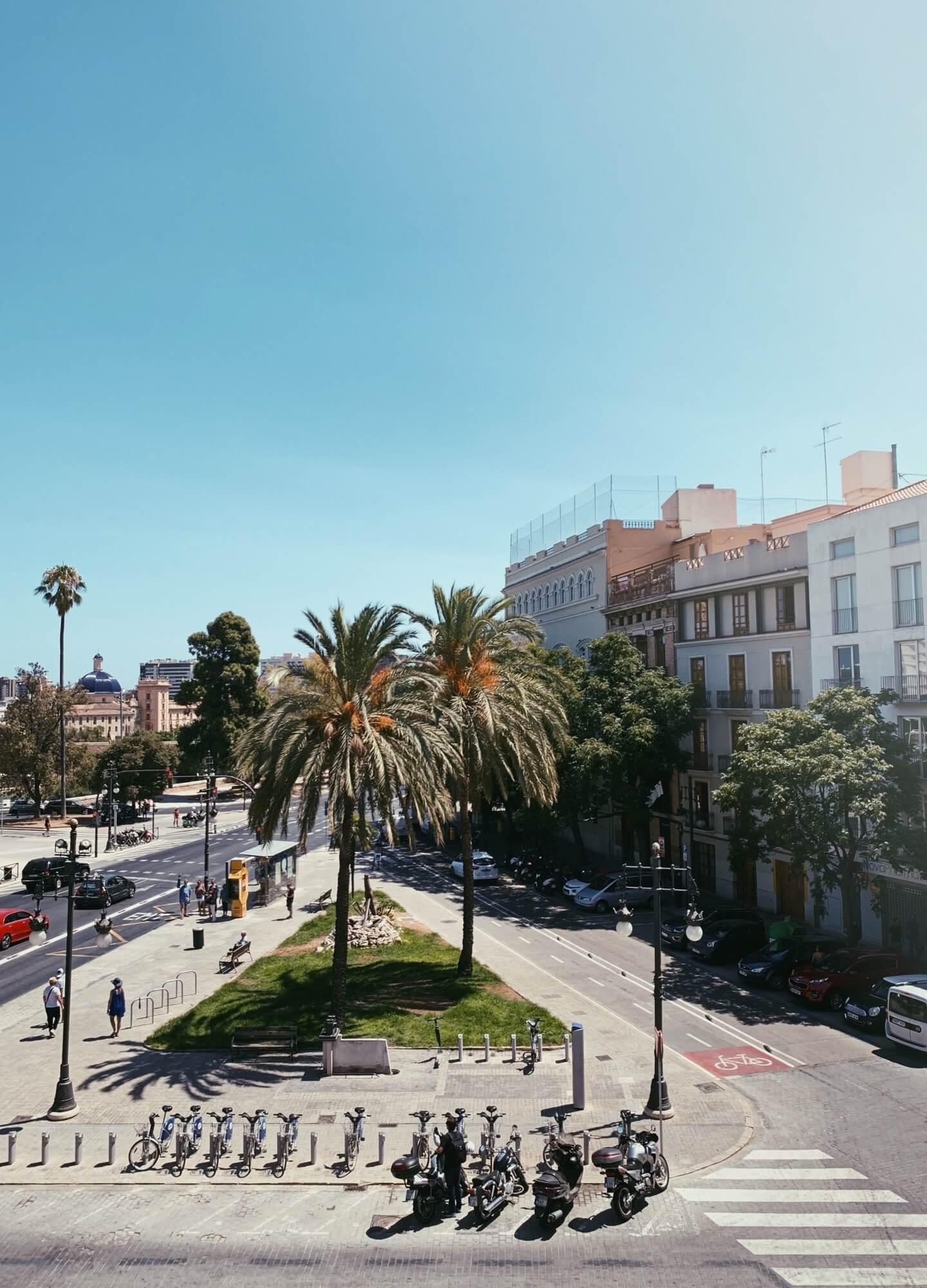 Summer vibe in barcelona