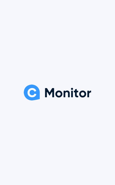 C-Monitor logo on light background