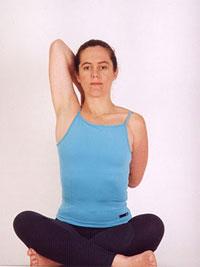 Gomunasana yoga pose