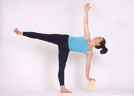 The Arda Chandrasana (Half Moon) Yoga Pose