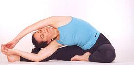 Parivrtta Janu Sirsasana yoga pose