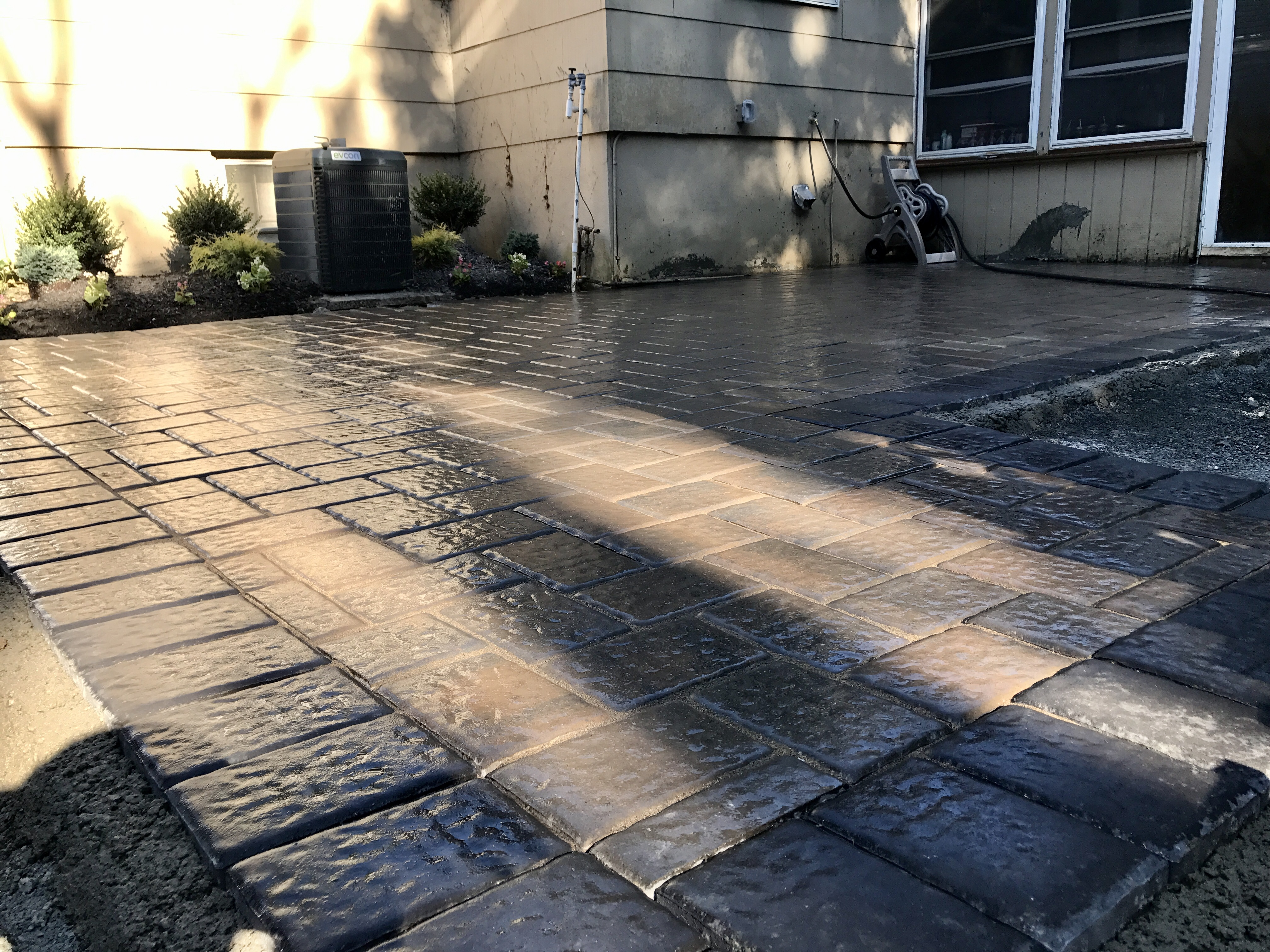 a paver patio in nj