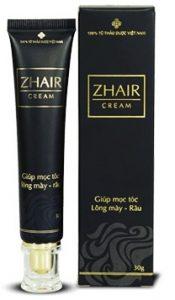 thuốc mọc lông mày zhair cream