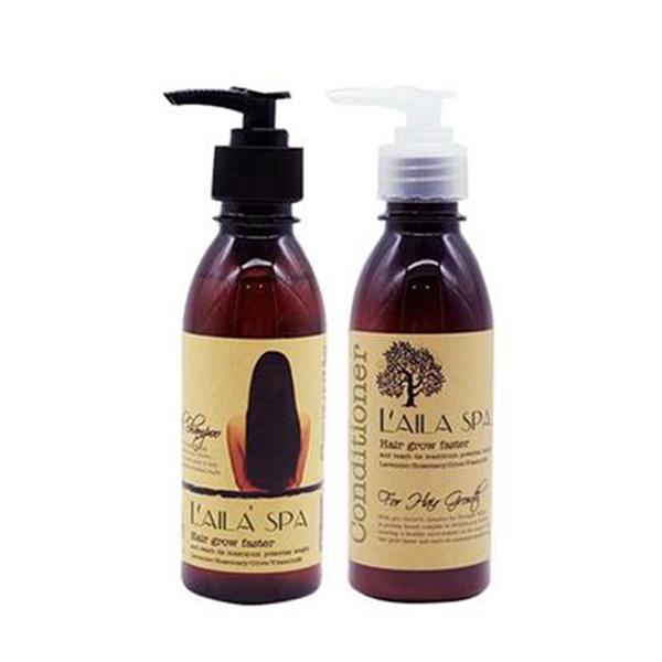 gội trị rụng tóc thảo dược Laila Spa