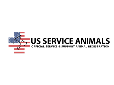 An image of the US Service Animals logo
