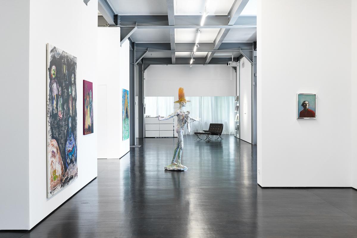 Exhibition: HERE HERE - DAS ICH UND ALLES ANDERE