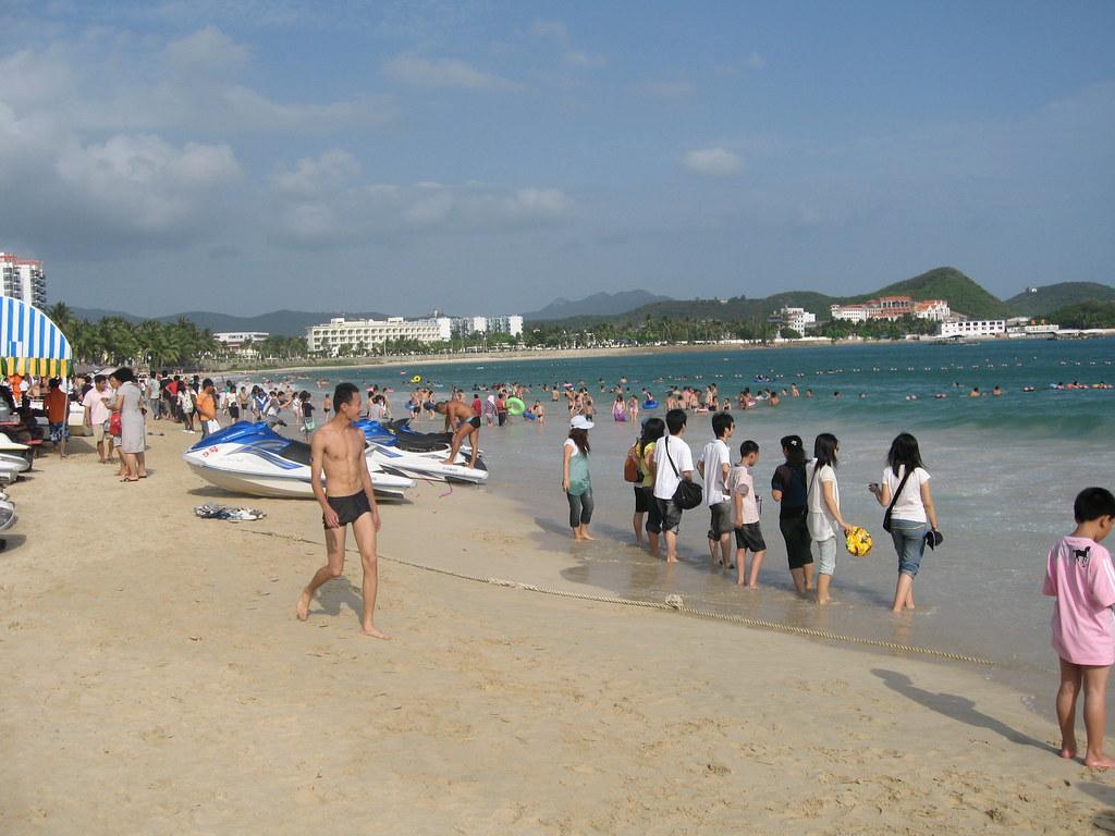 Sanya DaDongHai Beach | Toby Simkin | Flickr