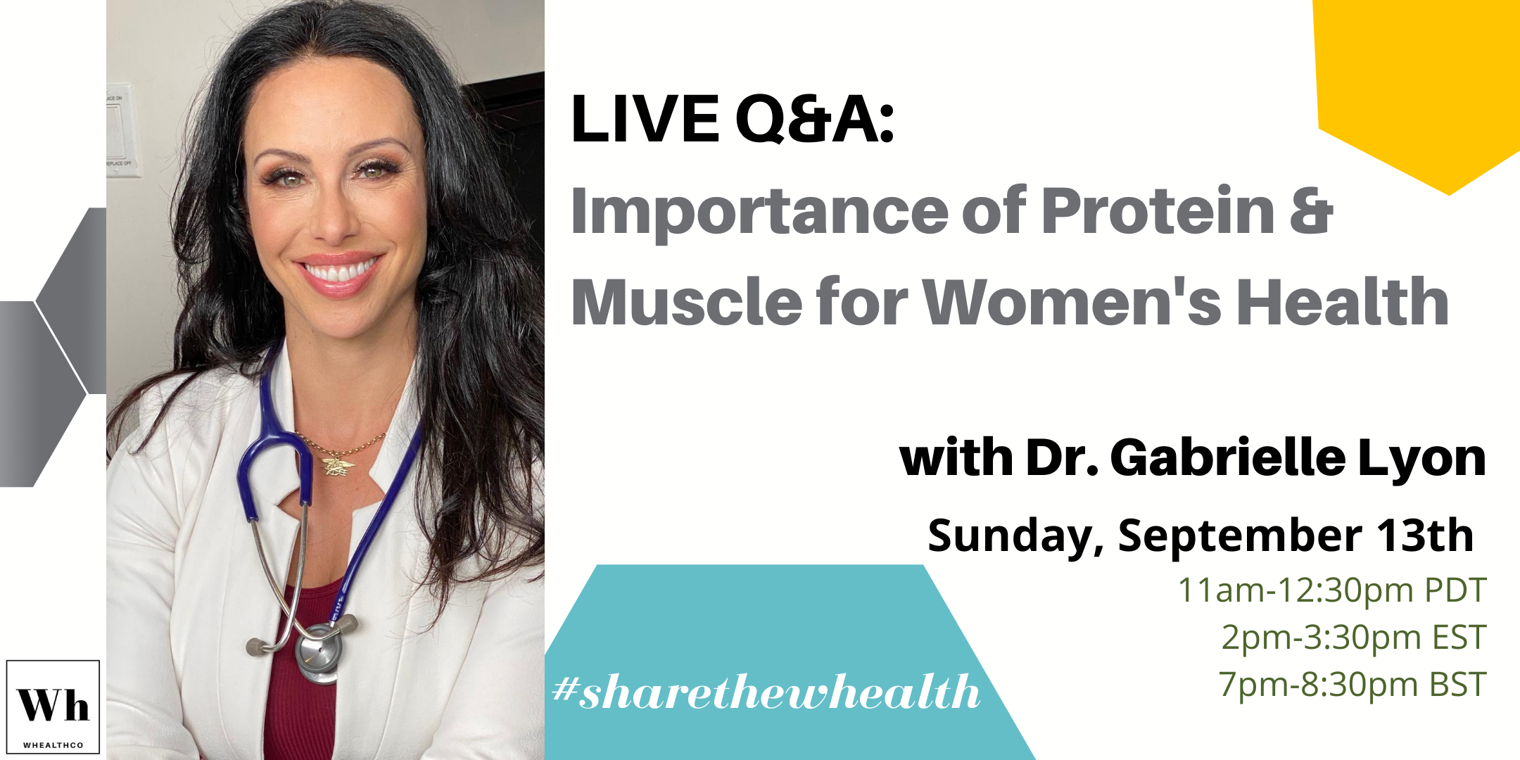 Importance of Protein and Muscle for Women with Dr. Gabrielle Lyon