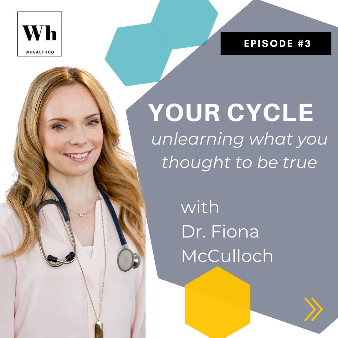 MONTHLY CYCLE AND PCOS MYTHS with Dr. Fiona McCulloch