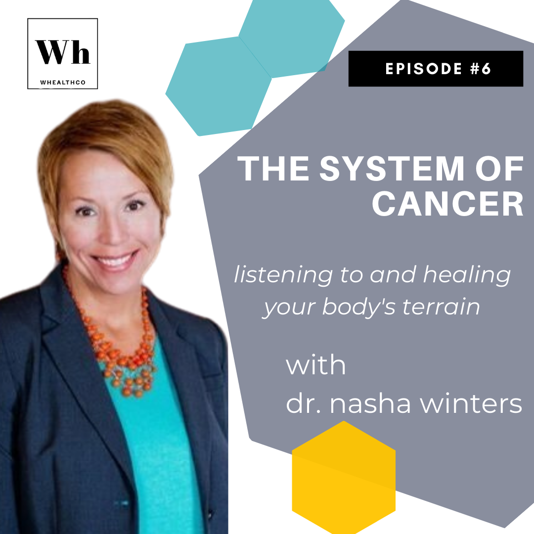 NO CANCER: BUILDING YOUR BODY'S OPTIMAL TERRAIN with Dr.  Nasha Winters