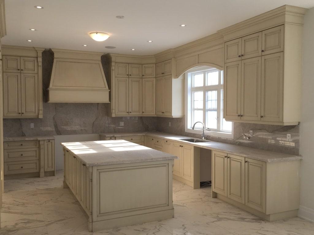 traditional kitchen beige
