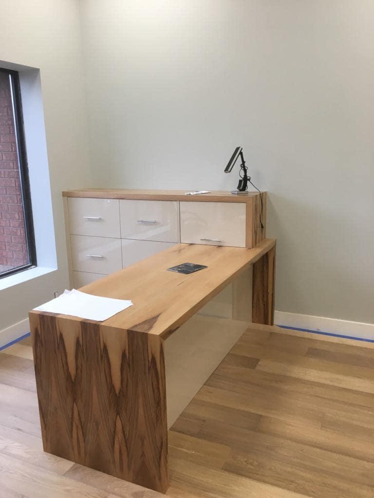gumwood custom desk