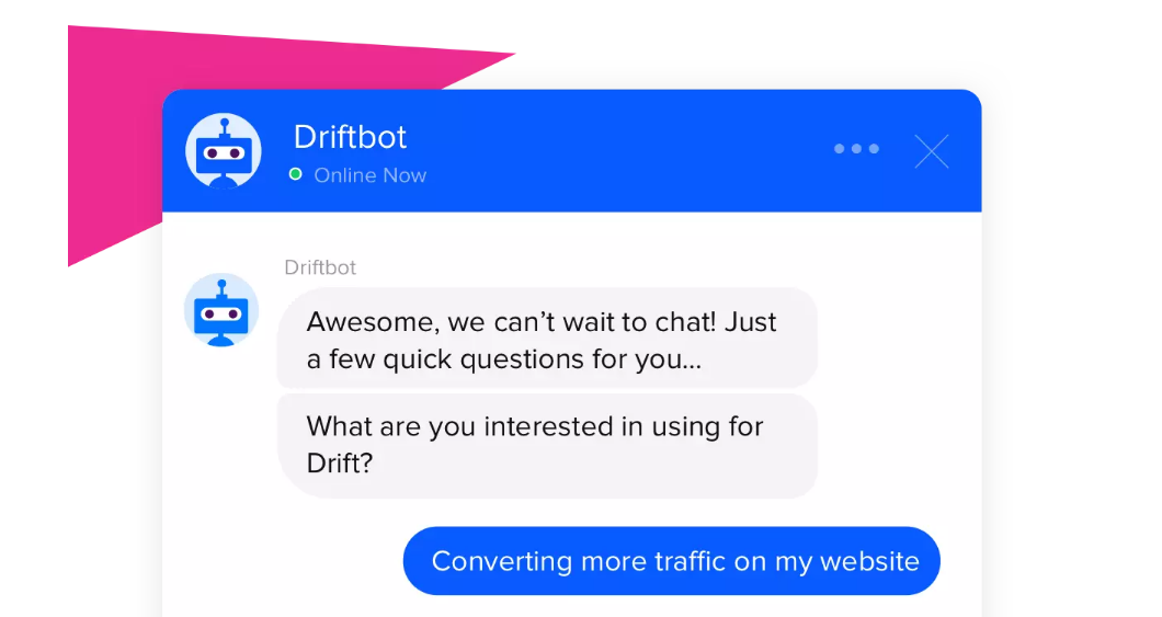 Drift bots and chats