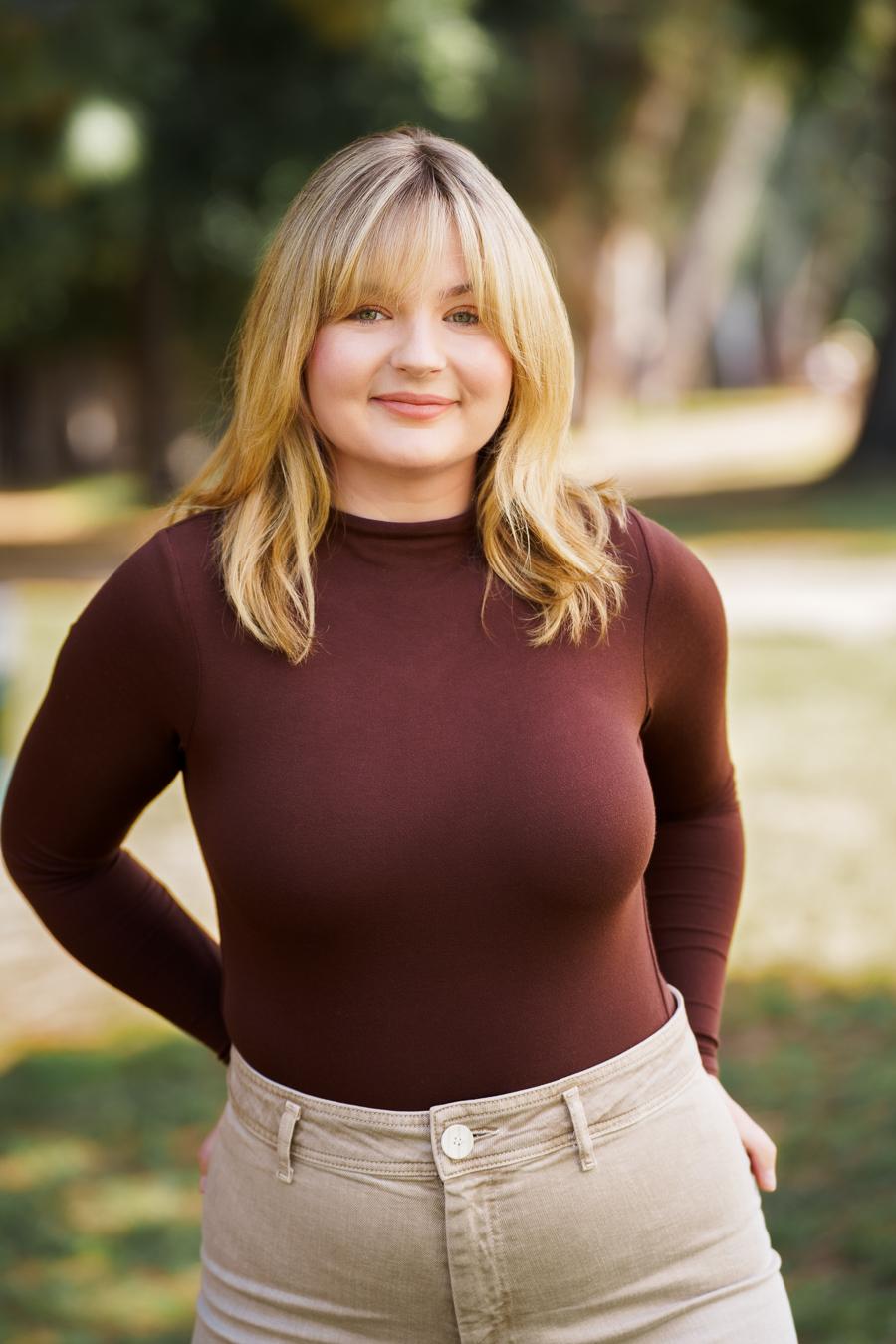 image of blog author blonde female