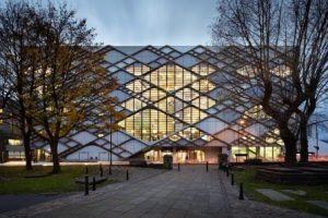 The Diamond is the University of Sheffield's largest ever investment in learning and teaching.