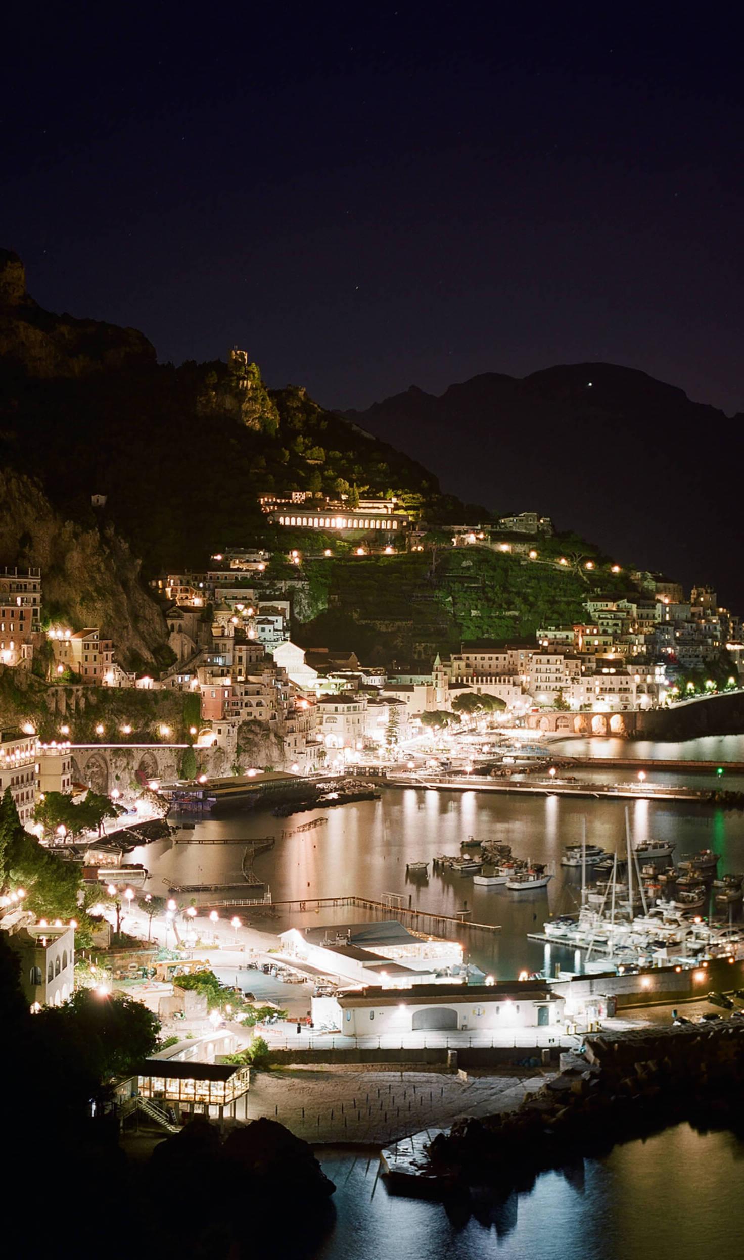 Italian Coast at Night