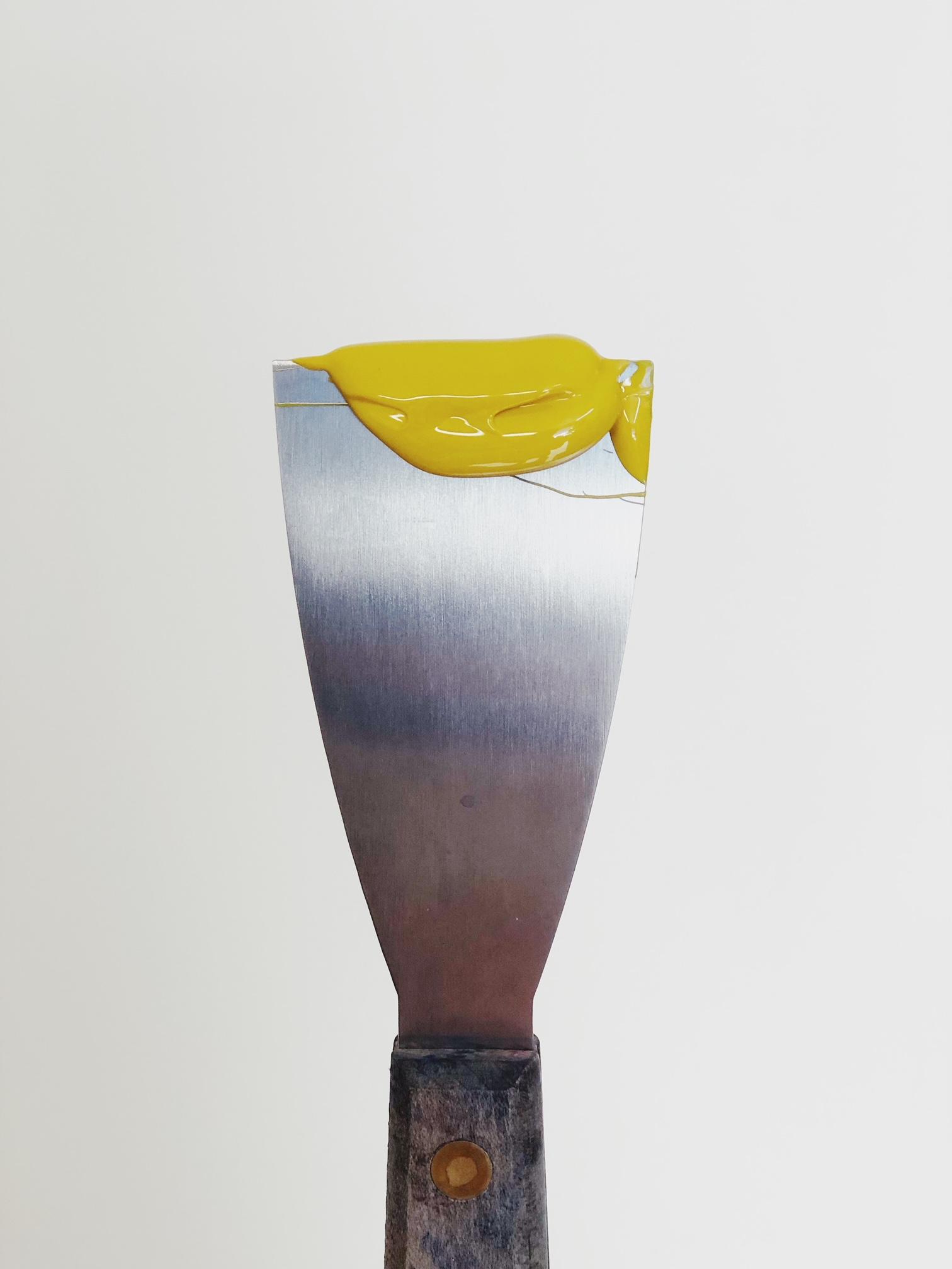 An ink knife for our letterpress workshops