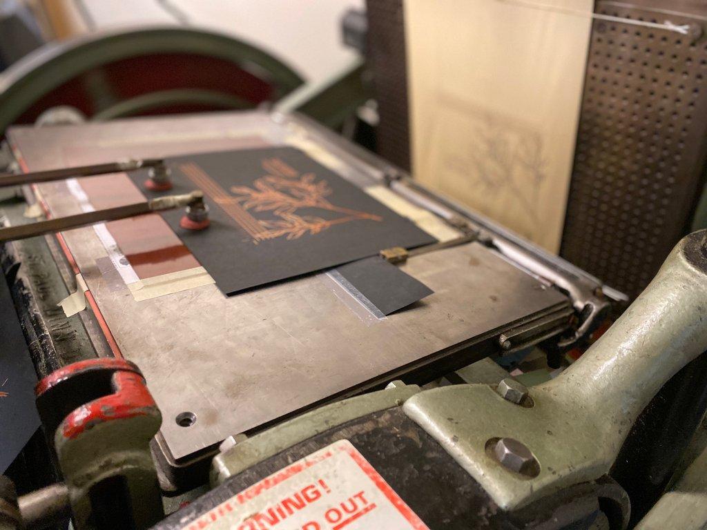 Kluge Foil Stamping Press